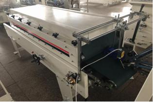 Máquina encoladora plegable automática de bloqueo de fondo corrugado