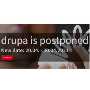 The Postpone of Drupa 2020