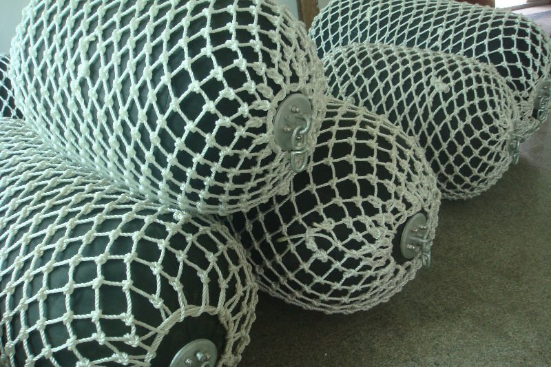 Fiber Rope Type Floating Fenders