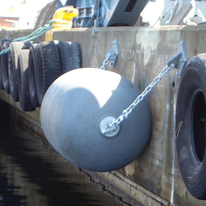 How to install Yokohama type pneumatic rubber fenders ?