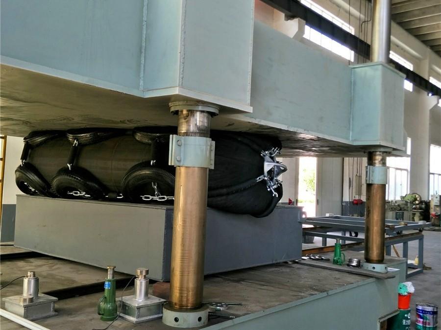 rubber fender testing