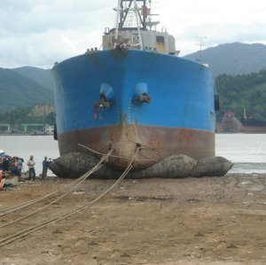 High Pressure Marine Ship Launching Rubber Airbag For Floating Barge Tugship Launching