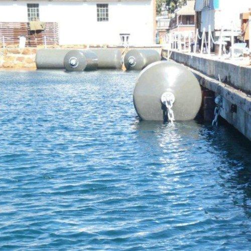 Marine Foam Filled Rubber Fender Polyurethane Material for Boat Dock