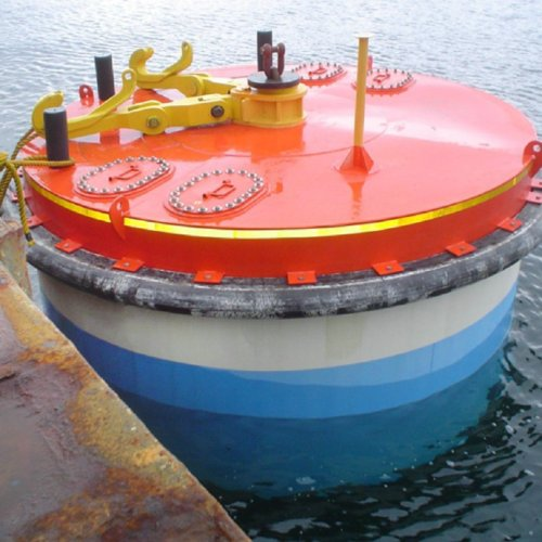 Marine Steel Sturctured Offshore Mooring Buoy with Quick Release Buoy Hook