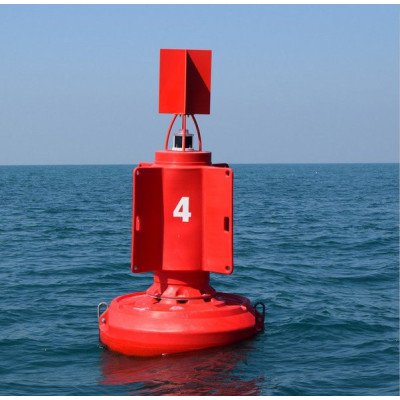 Ultrahigh Molecular Weight Polyethylene Lateral Mark Buoy