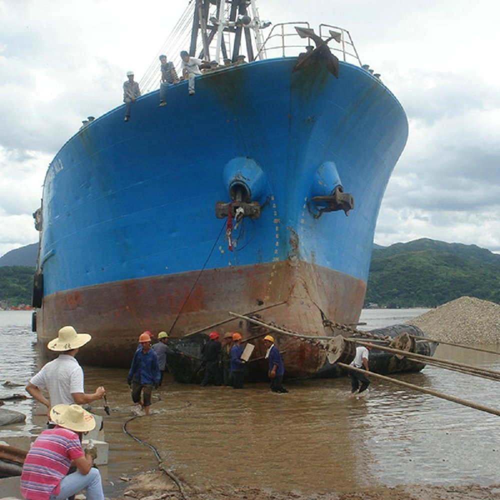 ship launchining airbag