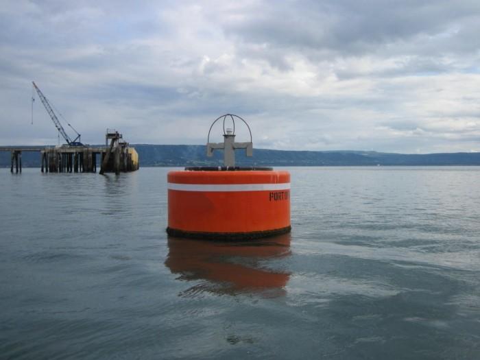 Foam mooring buoy