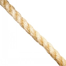 3-Strand Natural Twisted Sisal Rope