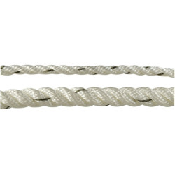 Outdoor White 3-Strand Twisted Nylon Polyamide Rope