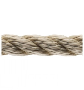 1-10 mm Brown Twisted 3-Strand Polyster Rope Braided Cord