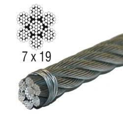 7x19 Steel Wire Rope