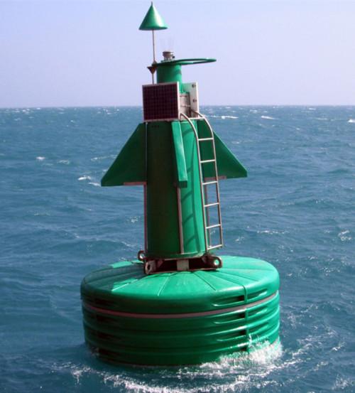 Ultrahigh Molecular Weight Polyethylene Ocean Lateral Mark Buoy