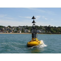 JRB Steel Cardinal Mark Buoy
