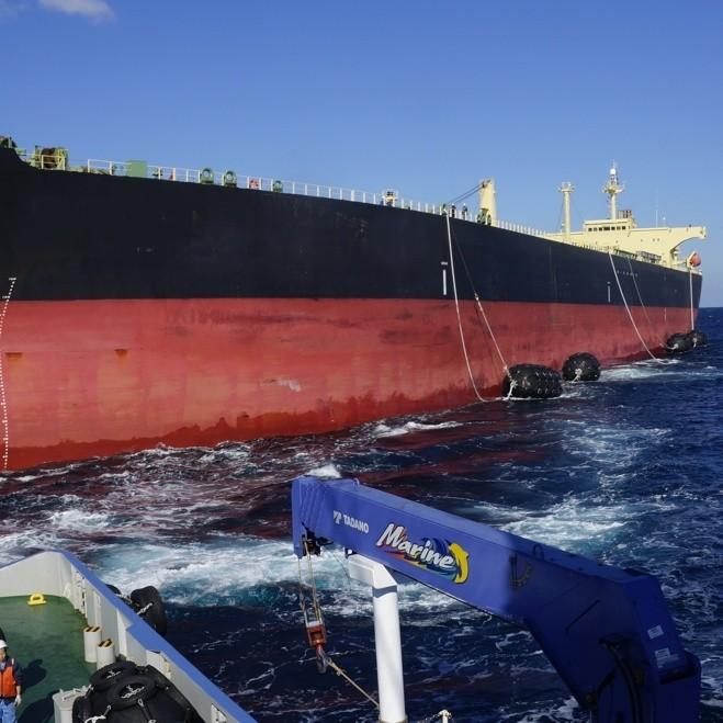 STS service docking fender