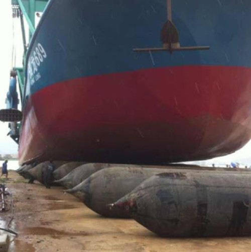 Maritime Inflatable Marine Ship Launching Airbags with End Fittings