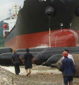 Marine Rubber Airbag Infatable Air Bag for Vessel with High Bearing Capacity