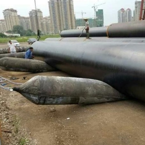Natural Rubber Airbags for Heavy Load Vessel Launching and Lifting