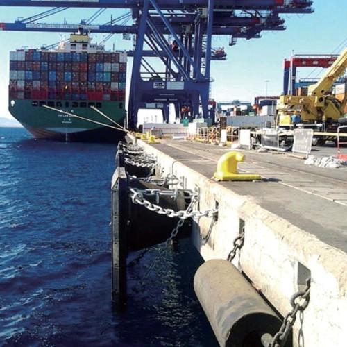 Solid Rubber Fender Marine Boat Dock Fender Mooring Fender for Ship Protection