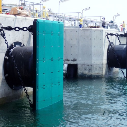 Marine Mooring Super Cell Rubber Fender (SC Type) with ISO17357 Certificate