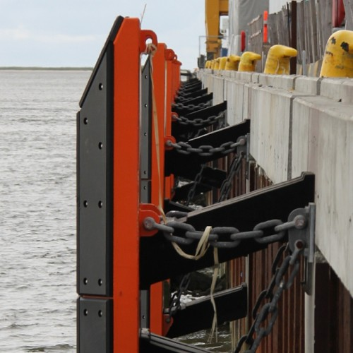 Marine ME Elements Rubber Fender For Jetty Dock