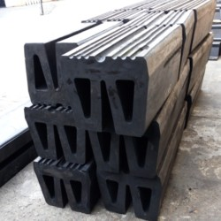 Marine W Type Rubber Fender For Ships Protection