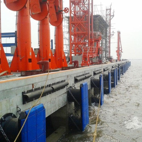 High Quality Marine Supplies Wing Type Rubber Fender For Dock
