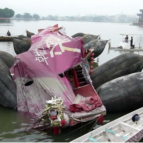 Big Carrying Capacity Ship Salvage Airbag Rubber Air Bag