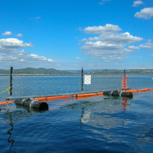 Marine Floating Harbor Offshore Barrier For Stopping Vessels