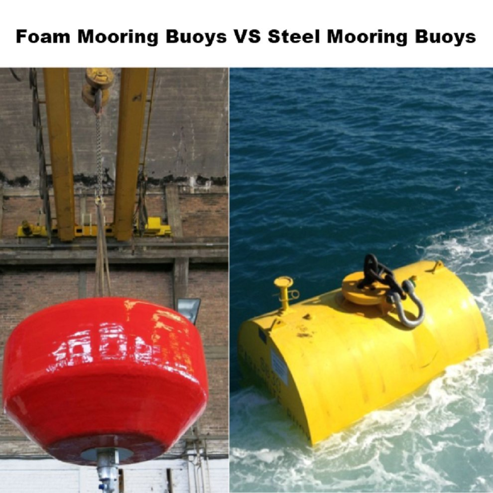 EVA/Polyurea Mooring Buoys VS Traditional Steel Mooring Buoys