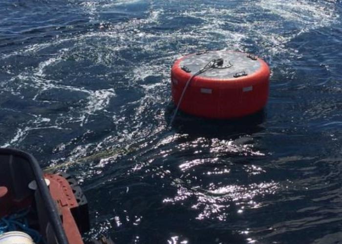 foam filled mooring buoy