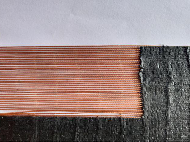 synthetic-tyre-cord layer