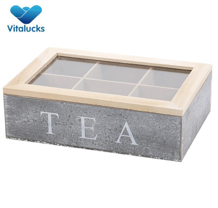 wooden storage box