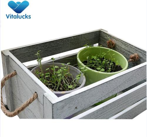 Hot selling distressed white wooden crates