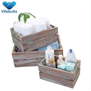 Wholesale handmade wooden crates in painting