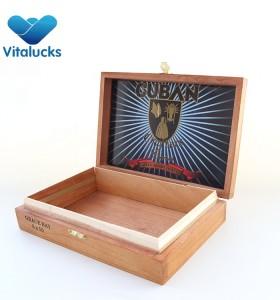 Premium Handmade Luxury Wooden Humidor Cigar Box
