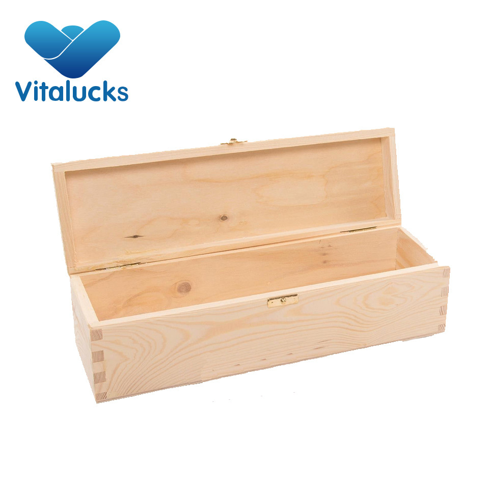 wooden packing box for wine
