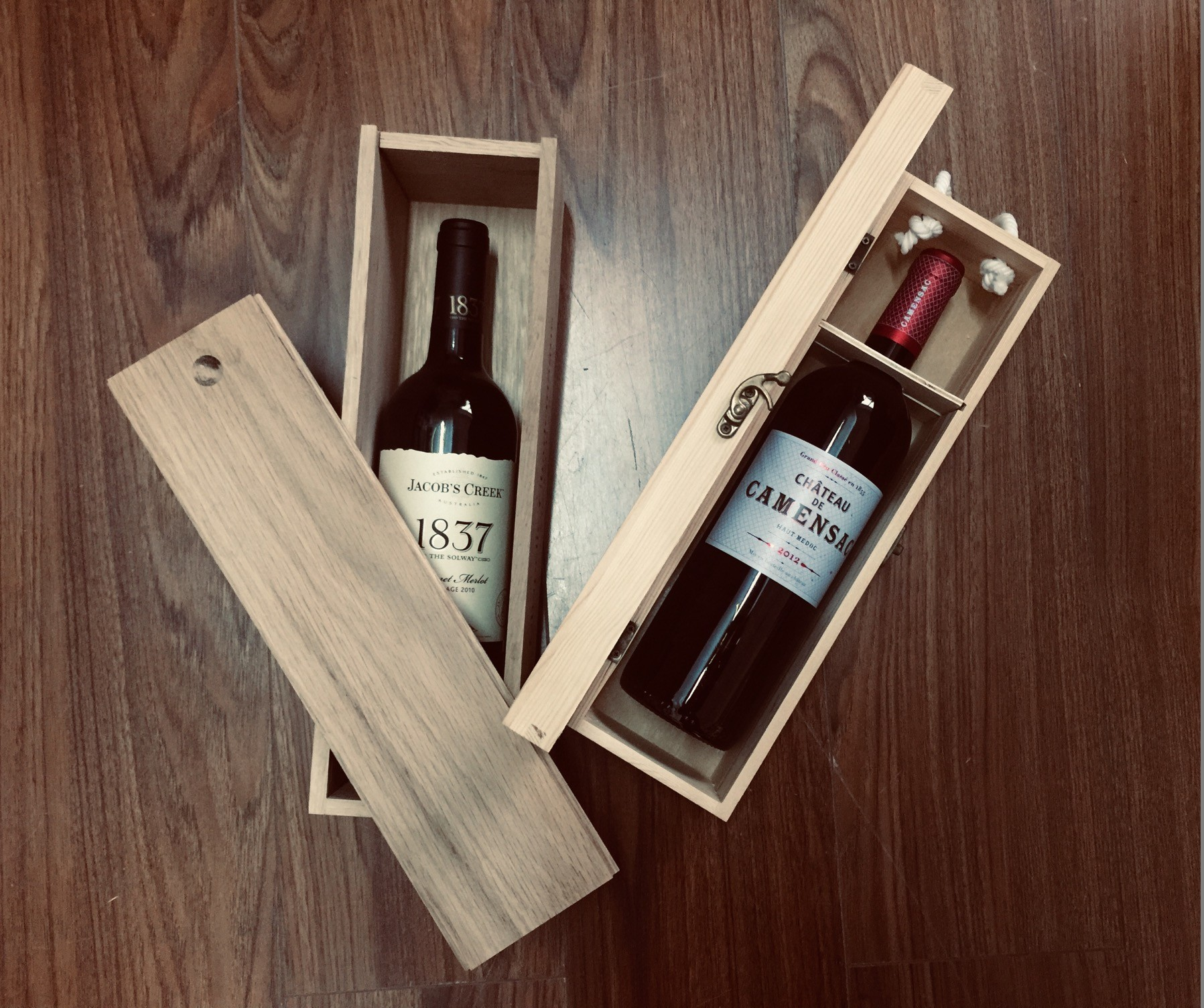 customized your wooden packing box