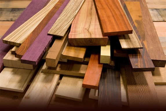 wooden material types