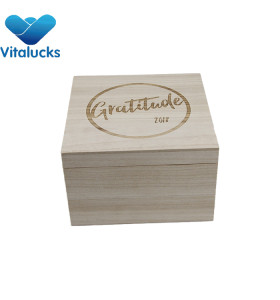 Wooden gift storage package storage boxes