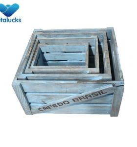 Wooden beer crates for sale