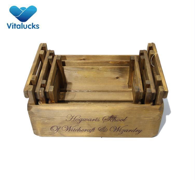 handmade wood crate