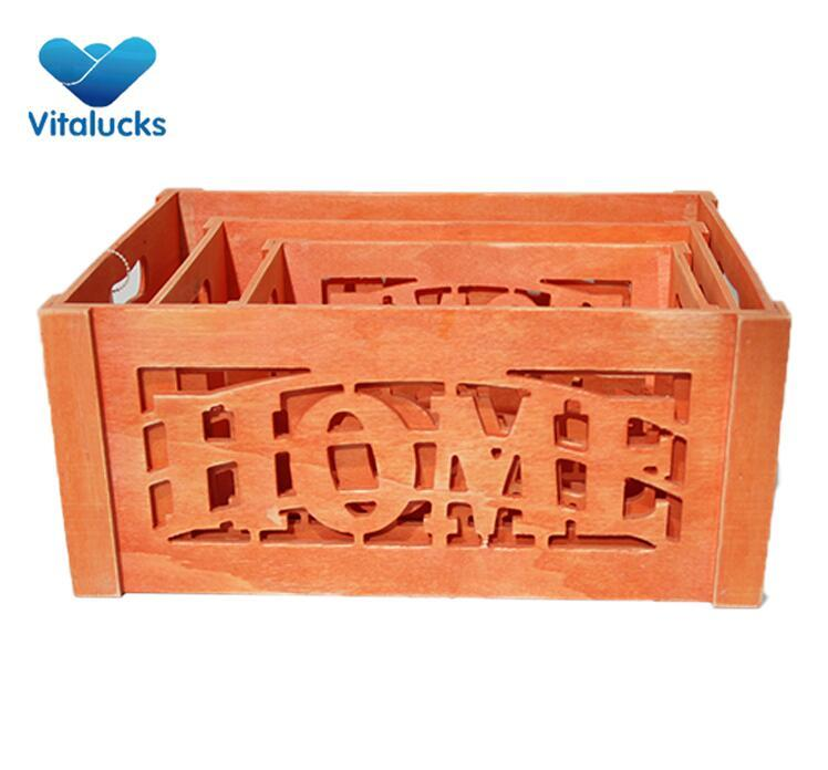 large wooden crates wholesale