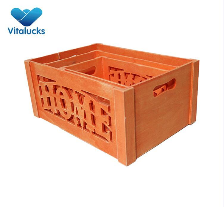 wooden crates decorative