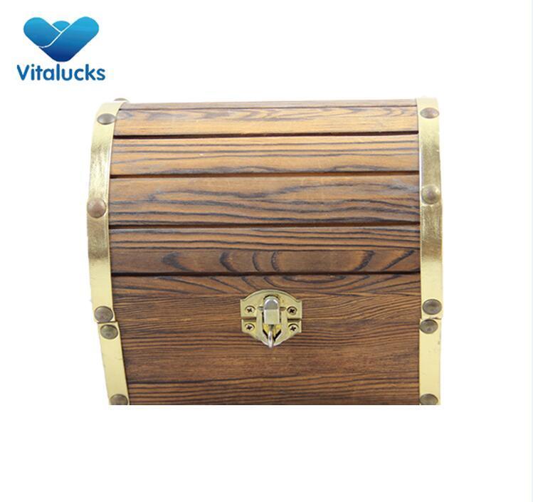 solid wood storage box