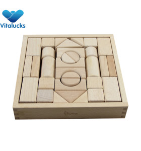 Hot sale wooden blocks game for kids