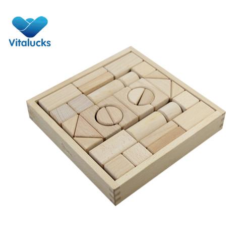 Hot sale wooden blocks game for kids