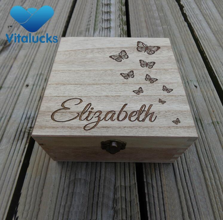 butterfly laser logo box