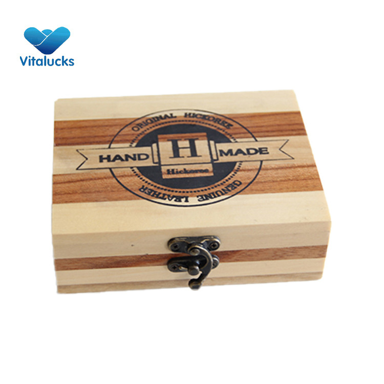 gift box wooden eco