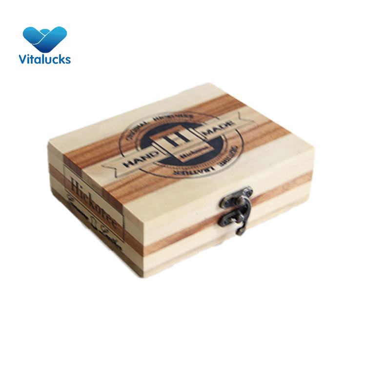 wooden small gift box