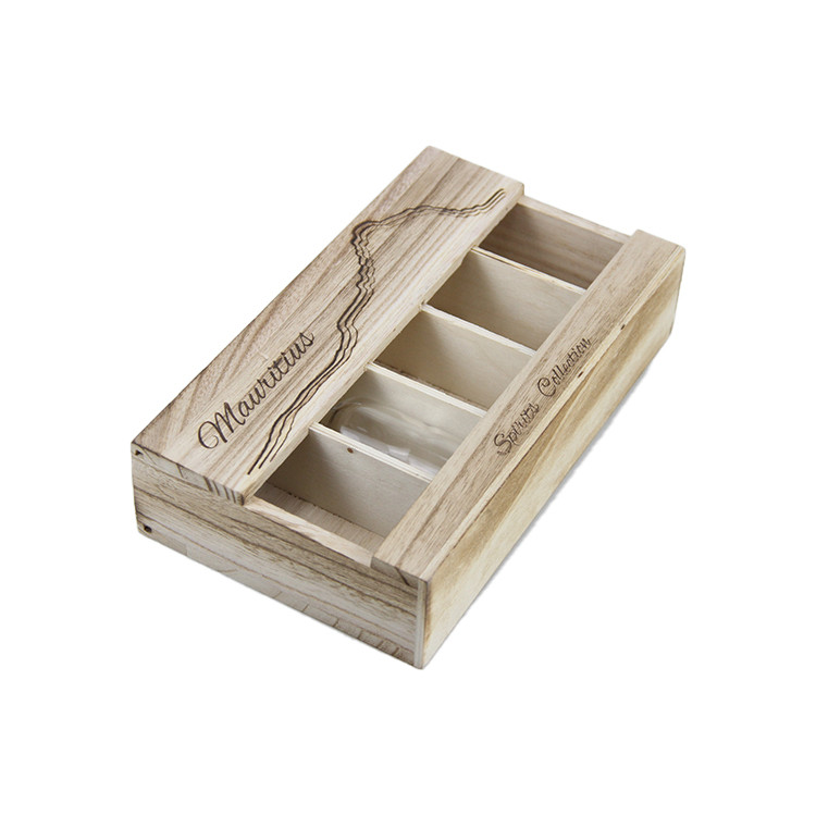 wooden crate storage box for wine